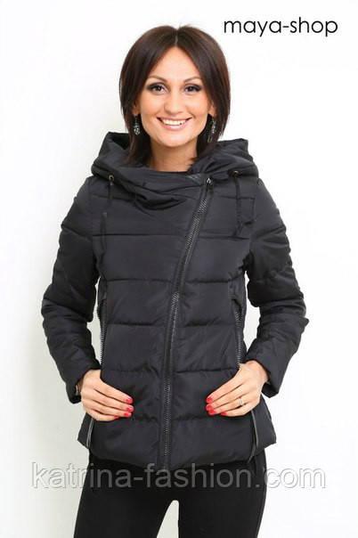 куртка косуха, демисезонная куртка, куртка на молнии, черная куртка на молнии
