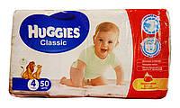 Подгузники Huggies Classic 4 (7-18 кг) - 50 шт.