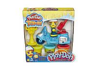 """Набір пластиліну Play-Doh Town """"Поліцейський мотоцикл"""" B5975"""
