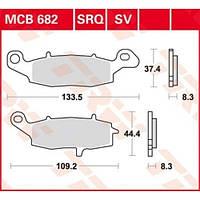 Комплект тормозных колодок Suzuki/Kawasaki TRW / Lucas MCB682SV