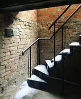 Лестница металлическая с забежными ступенями