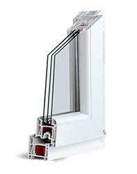 Окна металлопластиковые KBE Оптима