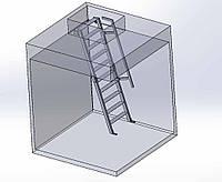 Изготовление лестницы металлической