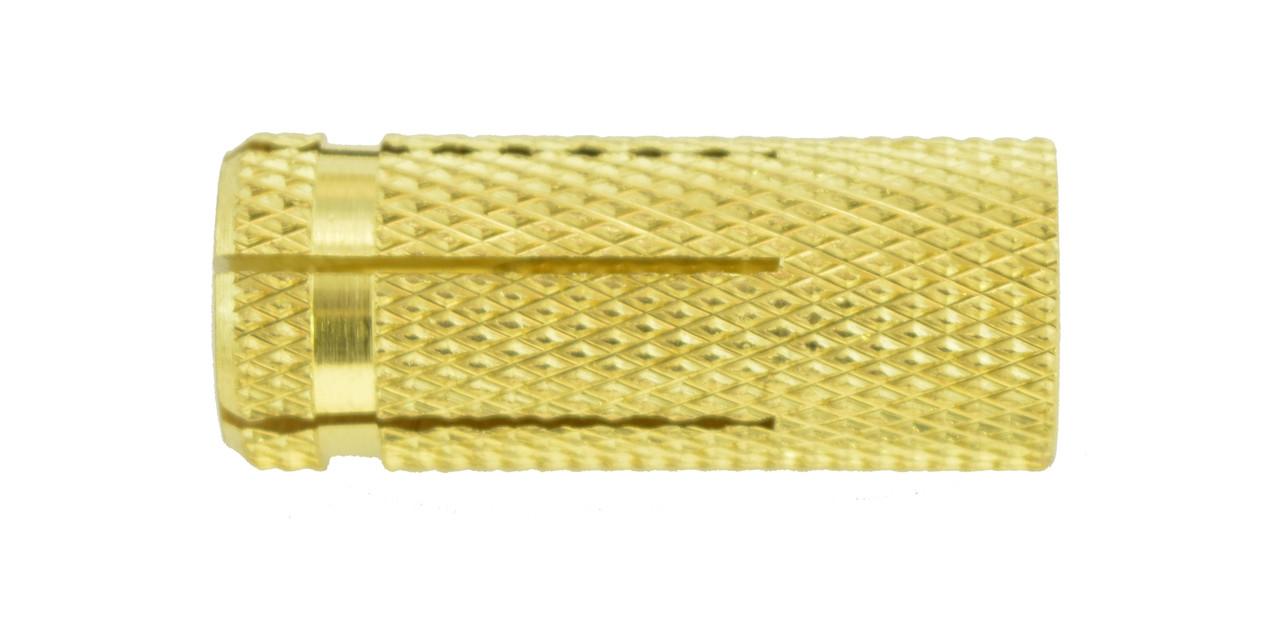 Латунный распорный дюбель М6/8х24 (упаковка 100 шт.)