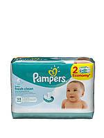 Детские влажные салфетки Pampers Baby Fresh Clean DUO 128 шт.