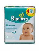 Детские влажные салфетки Pampers Baby Fresh Clean Quadro (3+1) 64 шт.