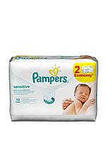 Детские влажные салфетки Pampers Sensitive DUO 112 шт