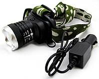 Многофункциональный налобный фонарь Police Bailong BL-6809 12000W, мощный налобный фонарик, фонарь на голову