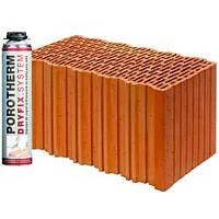 Керамічні блоки Porotherm 44 Dryfix
