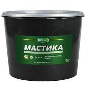 "Мастика ""Бикор"" каучук OIL RIGHT 2кг (пласт.банка)"