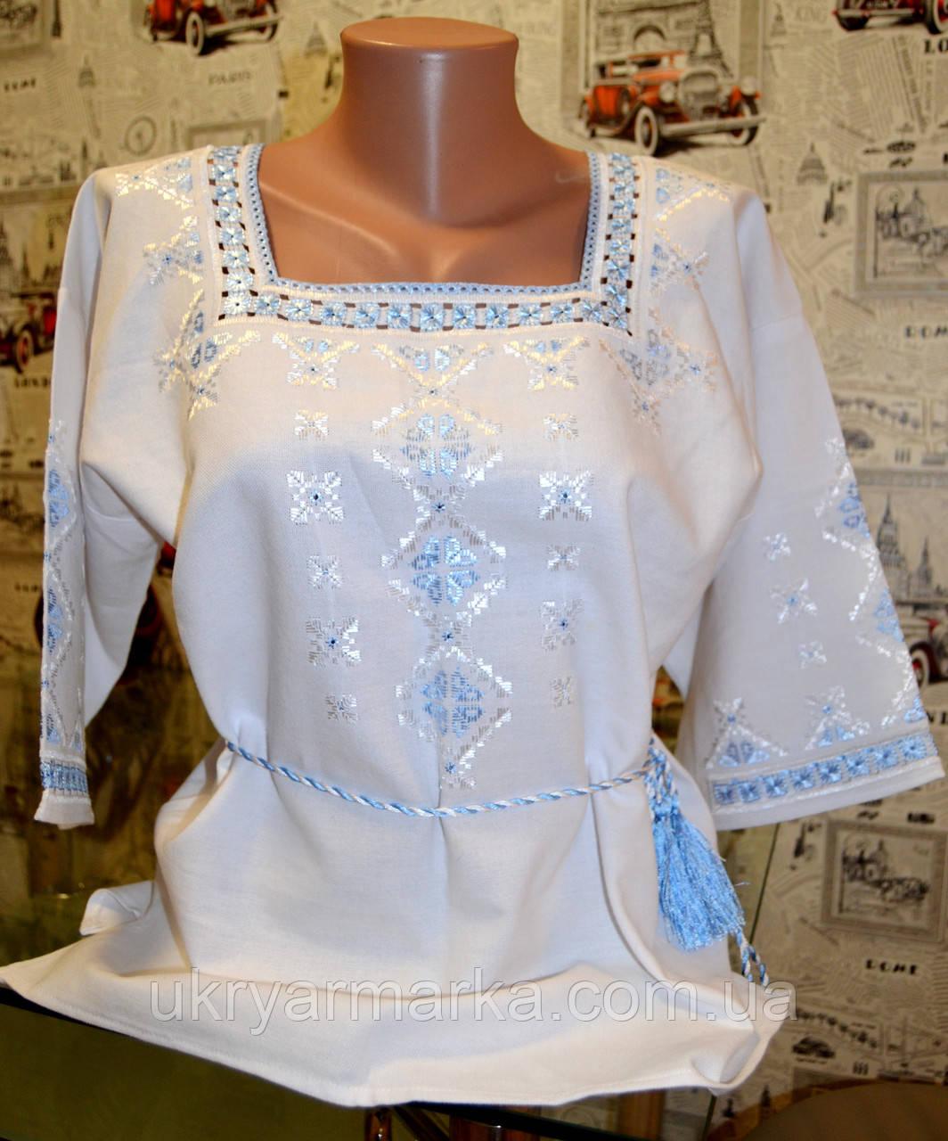 16701b80a77c9c Жіноча вишита блузка
