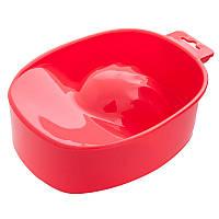 Ванночка для горячего маникюра и педикюра красная