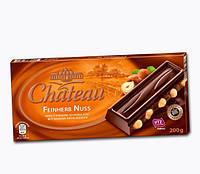 Шоколад Chateau Feinherb Nuss с цельным орехом 200 гр, Харьков