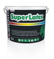 Фарба латексна для внутрішніх рібіт Optomal SuperLatex Мат 10 л.