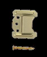 Кляймер № 1 (1 мм) для крепления вагонки из ПВХ (упаковка 100 шт.)