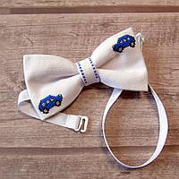 Дитячий метелик-краватка (ручна робота)  - Машинки