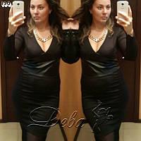 Платье женское батал ДЕ137, фото 1