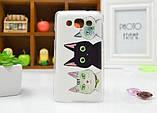 Чехол для LG L60/x135/x145/x147 панель накладка с рисунком ловец снов, фото 6
