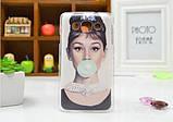 Чехол для LG L60/x135/x145/x147 панель накладка с рисунком ловец снов, фото 5
