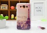 Чехол для LG L60/x135/x145/x147 панель накладка с рисунком ловец снов, фото 2