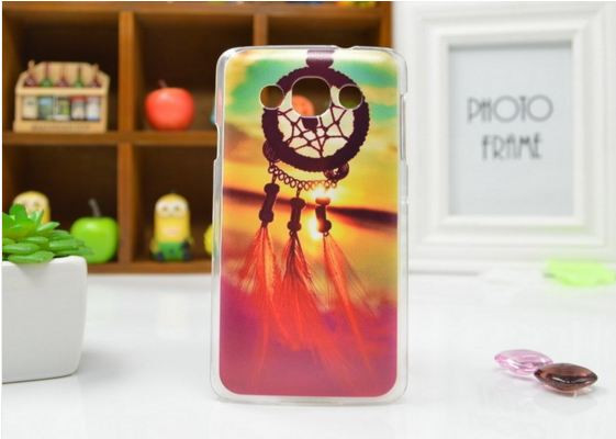 Чехол для LG L60/x135/x145/x147 панель накладка с рисунком ловец снов