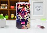Чехол для LG L60/x135/x145/x147 панель накладка с рисунком ловец снов, фото 8