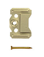 Кляймер № 3 (3 мм) для крепления вагонки, ДСП (упаковка 100 шт.)