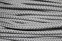 Шнур 6мм с наполнителем (50м) серый