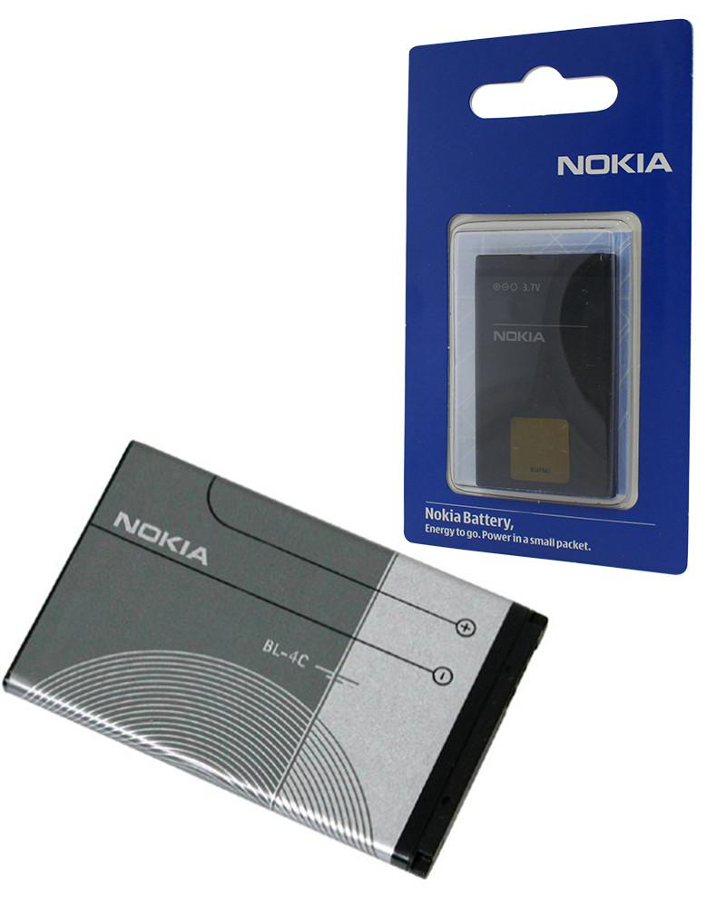 Аккумулятор для Nokia BL-4С Оригинал
