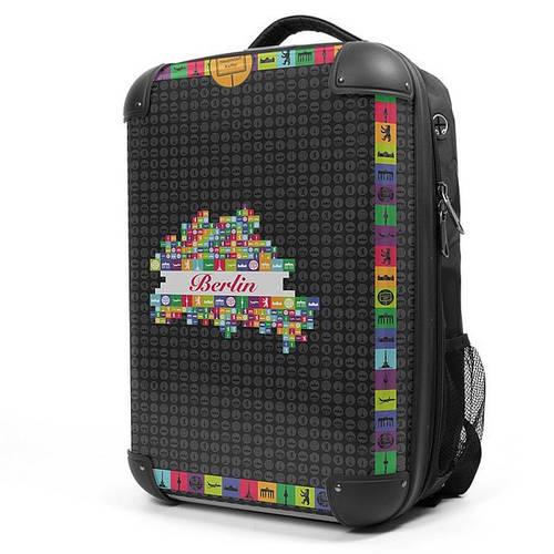 """Стильный рюкзак с отсеком для ноутбука 17"""", 28 л. Hauptstadtkoffer ruckzack черный"""