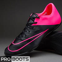 Футзалки Nike Mercurial Victory V IC Black/Black-Hyper Pink-Hyper Pink