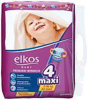 Подгузники Elkos Premium 4 (7-16 кг), 42 шт