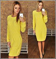 Вязанное платье БЧ01