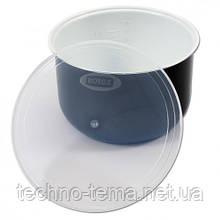 Чаша 5 литров керамическая с крышкой для мультиварки ROTEX RIP5017-C