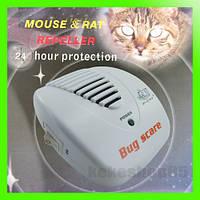 Ультразвуковой электронный отпугиватель мышей и крыс для дома и офиса