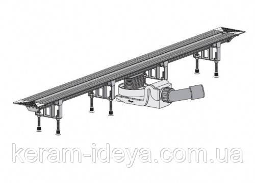Душевой лоток Viega Advantix Vario 300-1200мм в комплекте с матовой решёткой SR1 704353