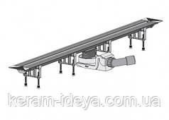 Душевой лоток Viega Advantix Vario 300-1200мм в комплекте с глянцевой решёткой SR2 704360