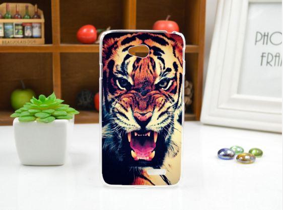 Чехол для LG L70/D325 панель накладка с рисунком тигр
