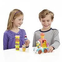 "Набор пластилина Play-Doh Town ""Машина мороженщика"" B3417"