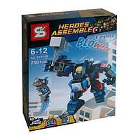 Конструктор SY360B Heroes Assemble Альтрон против робота Тора 250 дет, фото 1