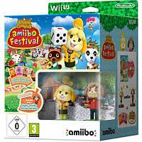 Animal Crossing Amiibo Festival Bundle Wii U