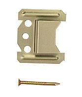 Кляймер № 6 (6 мм) для крепления вагонки, блок-хауса (упаковка 80 шт.)