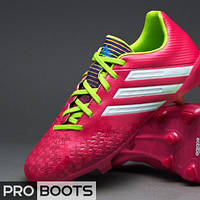 Детские футбольные бутсы Adidas Predator Absolado LZ TRX FG Junior Pink