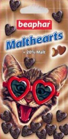 Витамины Беафар  для выведения шерсти с желудка для кошек №75