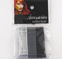 Набор невидимок для волос L 5 см, 24 шт./уп.