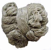 Пряжа для вязания, цвет светло серый ПВ2