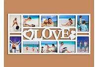 Фотоколлаж на 10 фото Любовь