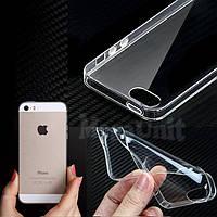 Прозрачный силиконовый чехол для Apple iPhone 5/5S