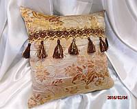 """Декоративная подушка """"Корона с кисточками"""" (в наличие 2 штуки)"""