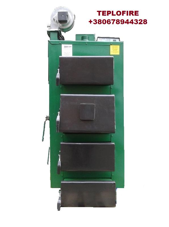 Стальной котел под дрова и уголь САН ПТ мощностью 17 кВт (CAH PT)